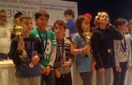 Μεγάλες διακρίσεις για τους μικρούς σκακιστές του ΟΦΗ!