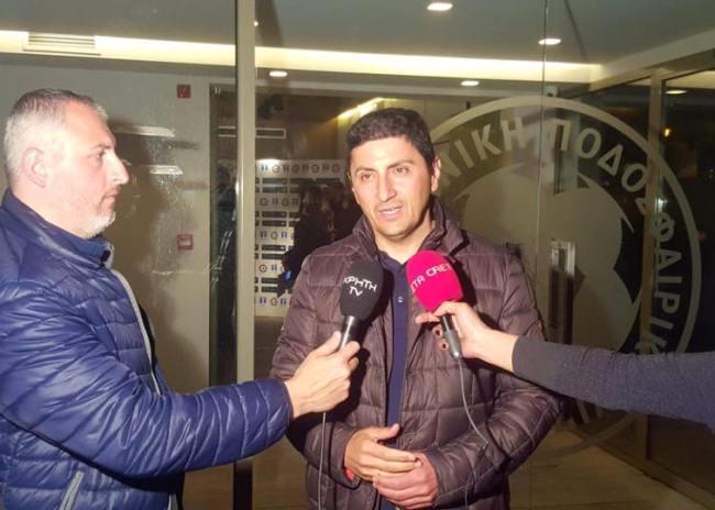 "Video | Αυγενάκης: ""Αργά ή γρήγορα ο ΟΦΗ θα δικαιωθεί"""