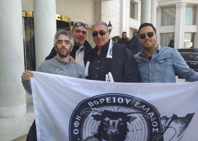Pics | Δίπλα στην ομάδα οι Ομιλίτες της Θεσσαλονίκης