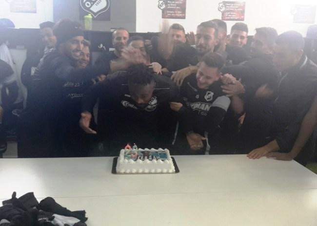 Video | Η τούρτα… έκπληξη του Σάκορ