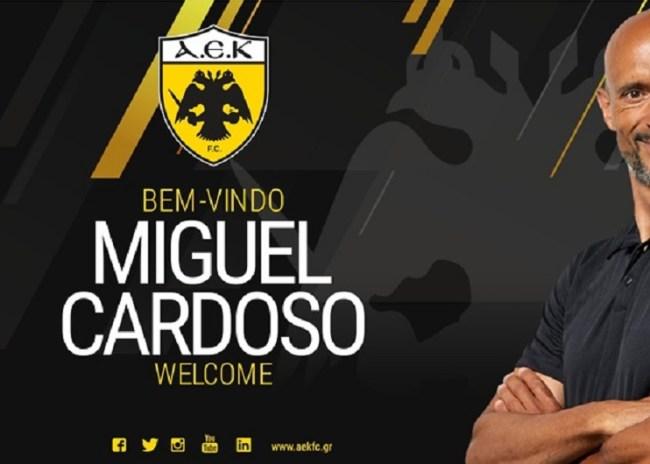 Νέος προπονητής της ΑΕΚ ο Καρντόσο