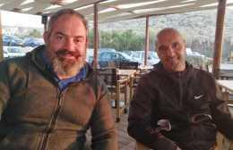 Ο Κυριάκος Μουτάφης team manager στην ομάδα βόλει του ΟΦΗ