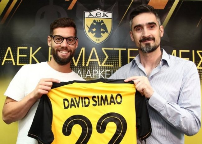 Ανακοίνωσε Σιμάο η ΑΕΚ