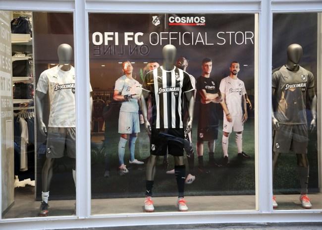 Όλα έτοιμα για το δεύτερο OFI FC Official Store στα Καμίνια
