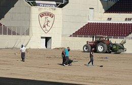 Ολοκληρώνεται η 3η φάση των έργων στο AEL FC Arena