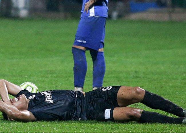 Τραυματίστηκε ο Ζαμπά
