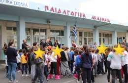 Επίσκεψη σε Δημοτικό σχολείο από τον μπασκετικό ΟΦΗ