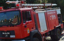 Πυρκαγιά ξέσπασε σε σπίτι στο Ρέθυμνο