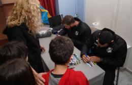 Pics | Εικόνες από την επίσκεψη του ΟΦΗ  στο 30ο Δημοτικό Σχολείο Ηρακλείου