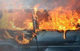 Kαταστράφηκε αυτοκίνητο στην Αμμουδάρα από πυρκαγιά