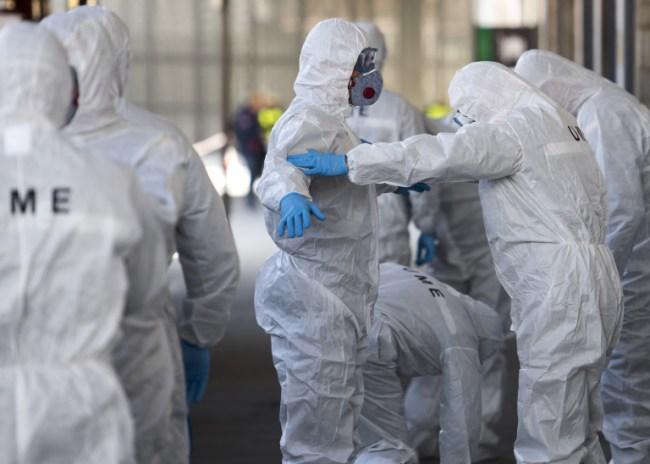 Κορωνοϊός: Νέο «μαύρο» ρεκόρ στην Ισπανία – 838 νεκροί σε μια μέρα