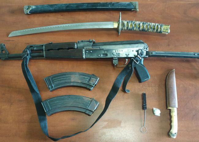 Συνελήφθη για οπλοκατοχή και ναρκωτικά στην Μεσσαρά