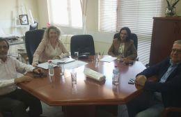 Συνάντηση στο γραφείο της 7ης Υ.ΠΕ Κρήτης
