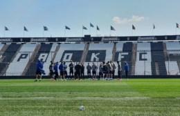 Επιστροφή στο γήπεδο στον ΠΑΟΚ με χωριστά γκρουπ