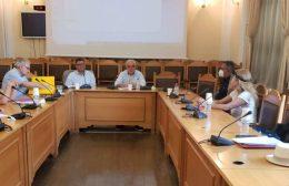Σύσκεψη στη Περιφέρεια Κρήτης για την Δημόσια Υγεία