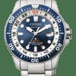 Diver's Eco Drive Super Titanio GMT