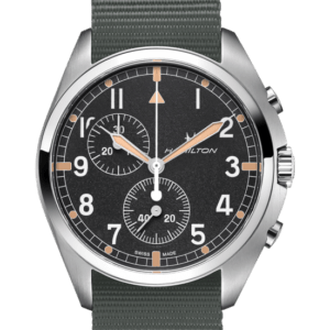 Khaki Aviation Pilot Pioneer Chrono Quartz