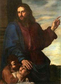 Cristo benedizione dei bambini