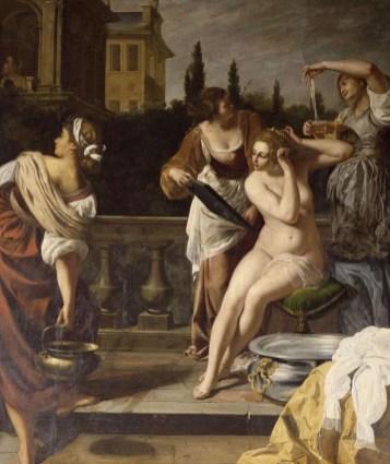 Bathsheba in the Bath