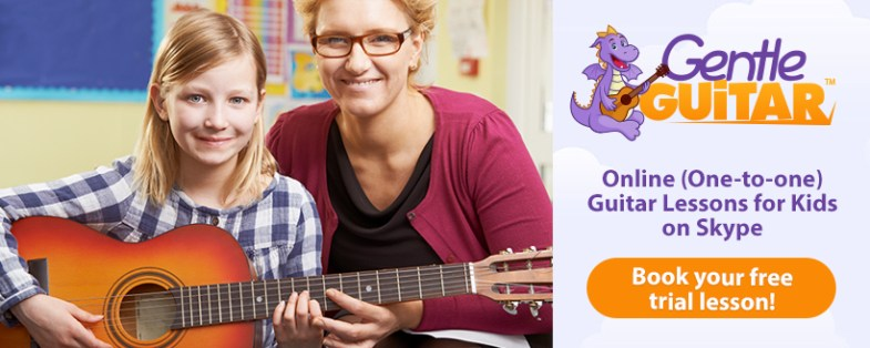 Online Guitar Lessons For Kids