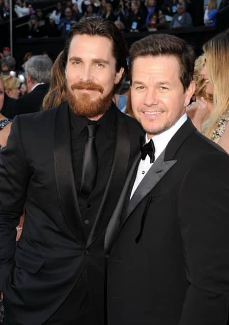 Christian Bale & Mark Wahlberg 2011