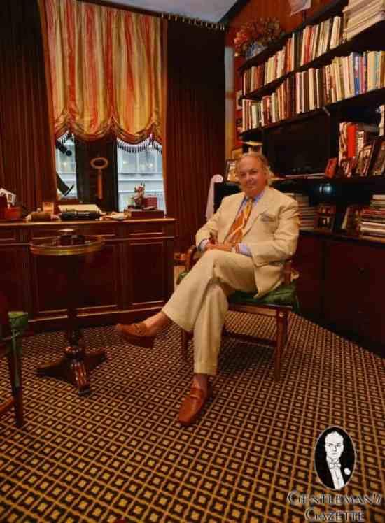 Alan Flusser at His Office