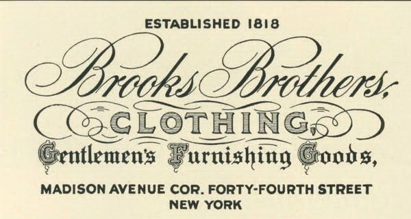 Brooks Brothers – The History of an American Haberdashery