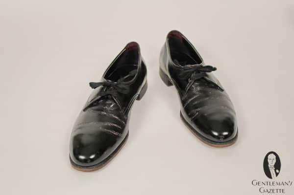 Elegant Florsheim evening shoes as worn by Harry S. Truman