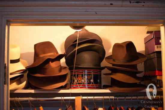 Assorted hats