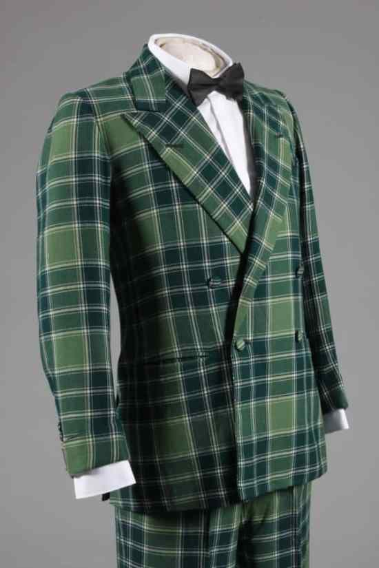 4x1 double breasted tartan evening suit of the Duke of Windsor