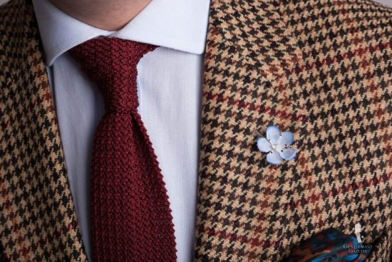 Houndstooth Tweed with overcheck