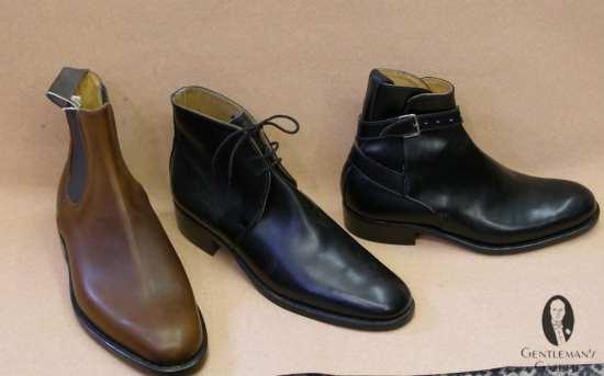 Chelsea Boot, George Boot & Jodhpur Boot