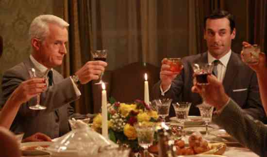 Mad Men Dinner Party