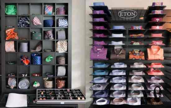 Eton Shirt Displays & Accessories