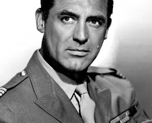 Cary Grant and his love of military uniforms