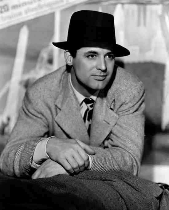 Hats Rarely Looked Good on Cary Grant