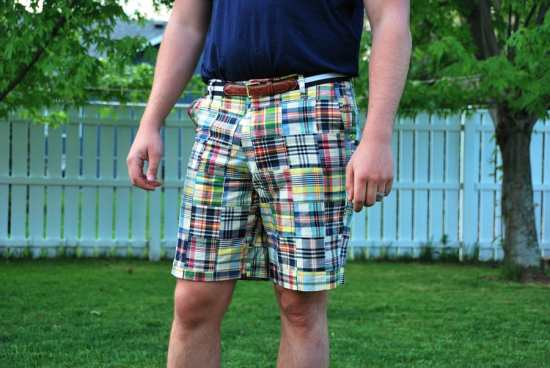 Beautiful summer madras shorts