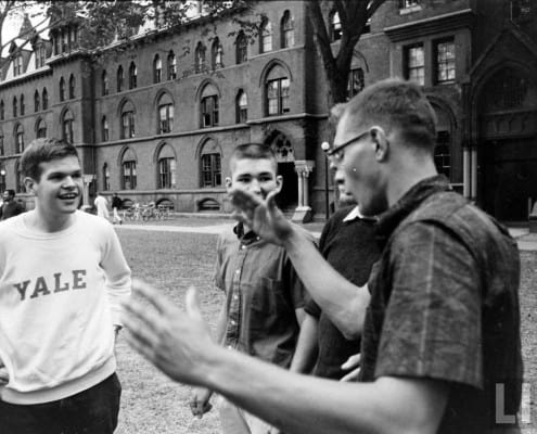 Yale students in the 1960