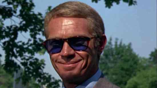 Steve McQueen wearing Wayfarers in The Thomas Crown Affair