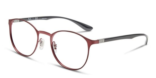 Round Ray-Ban metal glasses
