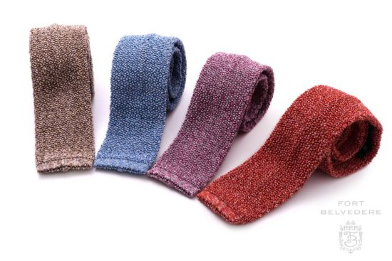 Cri de la Soie Knit Ties by Fort Belvedere