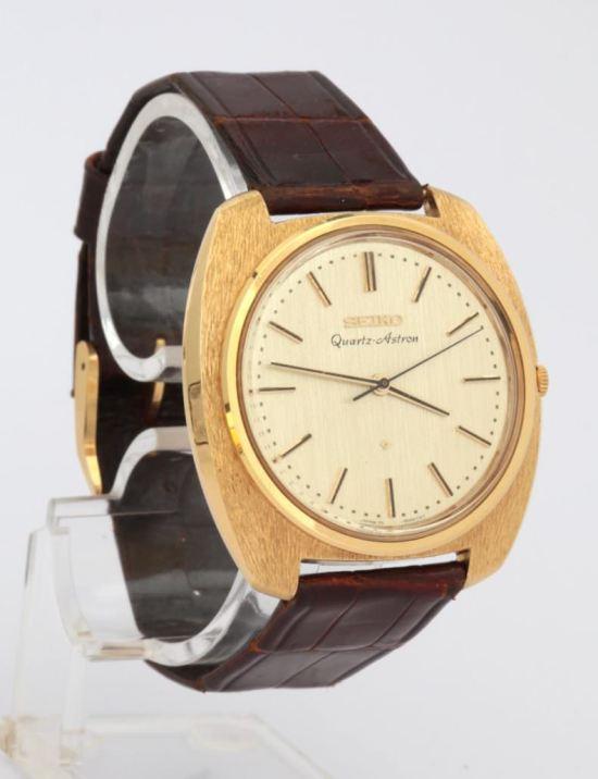Seiko Quartz Astron, the first quartz wristwatch, released in 1969