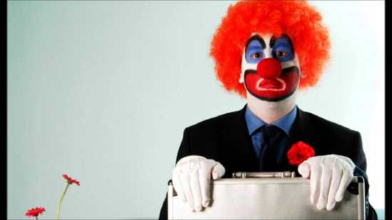 Don't be the office clown
