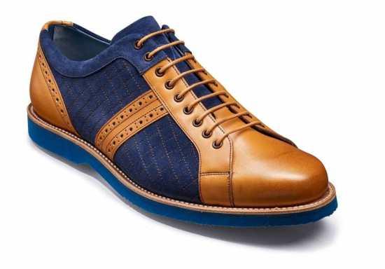 "Barker Shoes' contemporary ""Detroit"" derby sneaker"