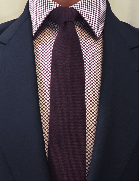 Duchamp's typical shirt and tie style