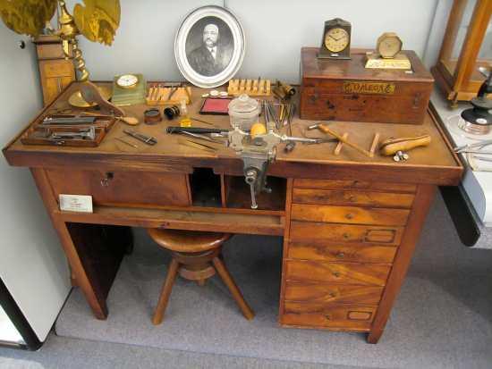 Louis Brandt own workbench