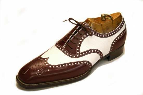Foster & Son Bespke Co-Respondent spectator shoe