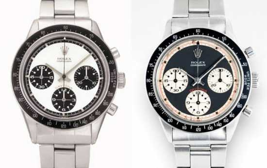 """Rolex Daytona with """"exotic dials"""" - the famous """"Paul Newman"""" dials"""
