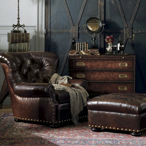 Ralph Lauren chesterfield set