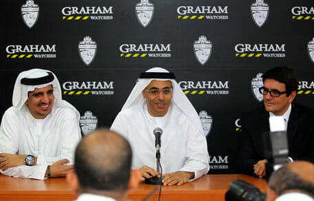 The sponsorship of the Al Ahli soccer team